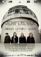 Concert Jeniferever si Absent Without Leave in Gambrinus Pub Cluj