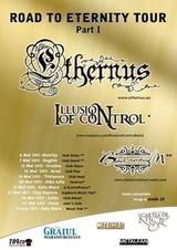 Concert Ethernus si Illusion Of Control in Reghin