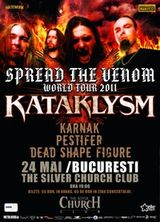 Concert Kataklysm in Silver Church