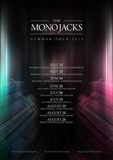 Concert The Mono Jacks la Mamaia in cadrul Ursus Evolution Tour 2011