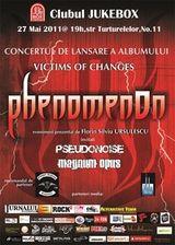 Concert de lansare a noului album PhenomenOn