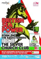 Concert British Sea Power la Silver Church