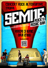 Concert Semne in Rock'n Regie Bar din Bucuresti