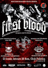 Concert First Blood si H8 in Club Fabrica