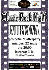 Nirvana Classic Rock Night la Dallas Pub din Botosani