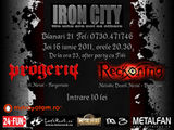 Concert Progeria si Reckoning in Iron City