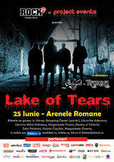 Concert Lake Of Tears la Arenele Romane din Bucuresti