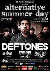 Concert Deftones la Arenele Romane