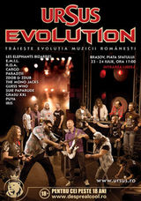 Concert Cargo, Luna Amara si multi altii la Ursus Evolution Tour 2011 Brasov