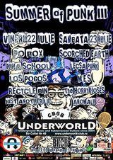 Summer of Punk 3 in Underworld Bucuresti