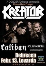 Kreator, Caliban and Eluveitie in Hungary
