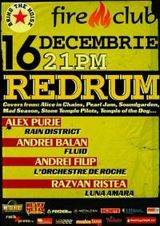 RedRum in Fire Club, Bucuresti