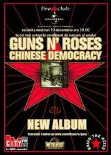 Lansarea Chinese Democracy (GN'R) in Romania