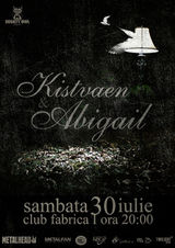 Concert Kistvaen si Abigail in Club Fabrica