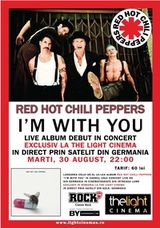 Concert Red Hot Chili Peppers transmis live la The Light Cinema