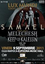 Concert Samael, Keep Of Kalessin si Melechesh la Cluj-Napoca