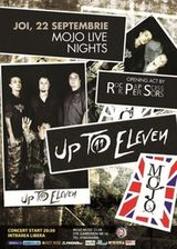 Concert Up To Eleven si Rock Paper Scissors in Mojo Bucuresti
