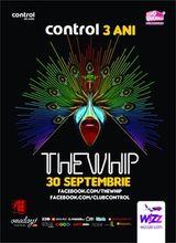 Concert The Whip la aniversarea de 3 ani a clubului Control