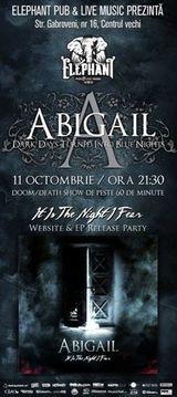 Concert de lansare a noului EP Abigail in Bucuresti