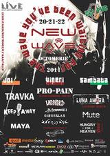 New Wave Fest la Cluj-Napoca: Pro-Pain, Luna Amara, Travka