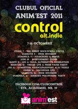 Concert Traum in cadrul serilor Anim'est din Club Control Bucuresti