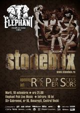 Concert Stonebox si Rock Paper Scissors in Elephant Pub