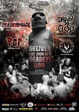 Concert Deadeye Dick si Deliver The God la Cluj-Napoca