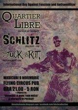 Concert Quartier Libre, Schlitz si Stuck In A Rut in Flying Circus Pub din Cluj