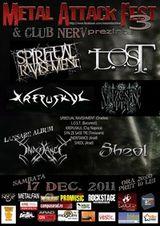 Metal Attack Fest 3 in Club Nerv din Arad
