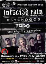 Concert Infected Rain si Psychogod in Club Fabrica din Bucuresti