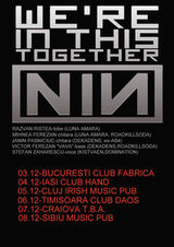Concert tribut Nine Inch Nails in Timisoara