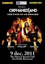 Concert Orphaned Land in Silver Church Bucuresti