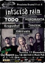 Concert Infected Rain la Brutal Fest 4 in Cluj