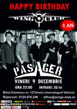 Concert Pasager la aniversarea Wings Club Day 1