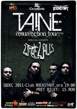 Concert Taine si White Walls in club Rockstadt din Brasov