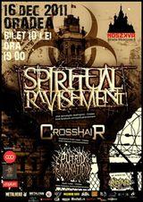 Concert Spiritual Ravishment si Crosshair in Oradea