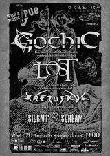 Concert Gothic si L.O.S.T in Irish&Music Pub din Cluj-Napoca