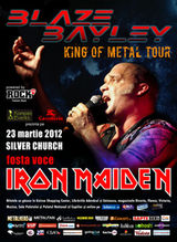 Concert Blaze Bayley (ex-Iron Maiden) la Bucuresti