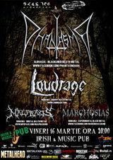 Concert Phantasma, Loudrage, Malpraxis in Cluj-Napoca