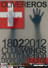 Concert de lansare album Oliver in Wings Club din Bucuresti