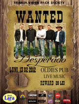 Concert Desperado in Oldies Pub din Sibiu