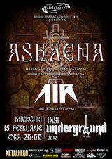 Concert Ashaena in Underground Pub in Iasi