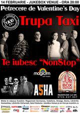 Te iubesc 'NonStop': Concert Taxi  de Valentine's Day