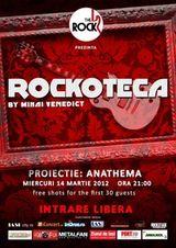 Proiectie ANATHEMA la rockoteca din The Rock, Iasi