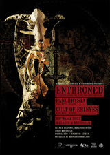 Concert ENTHRONED la Bucuresti