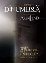 Concert DINUMBRA in Iron City Bucuresti