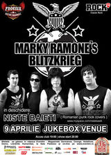 MARKY RAMONE's Blitzkrieg in Jukebox Venue Bucuresti