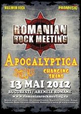 Romanian Rock Meeting la Arenele Romane: Concert Apocalyptica