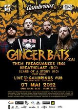 Concert CANCER BATS in Gambrinus Pub din Cluj