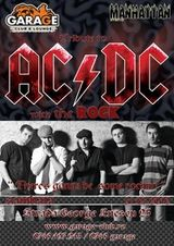 Concert tribut AC/DC in Garage Club din Bucuresti